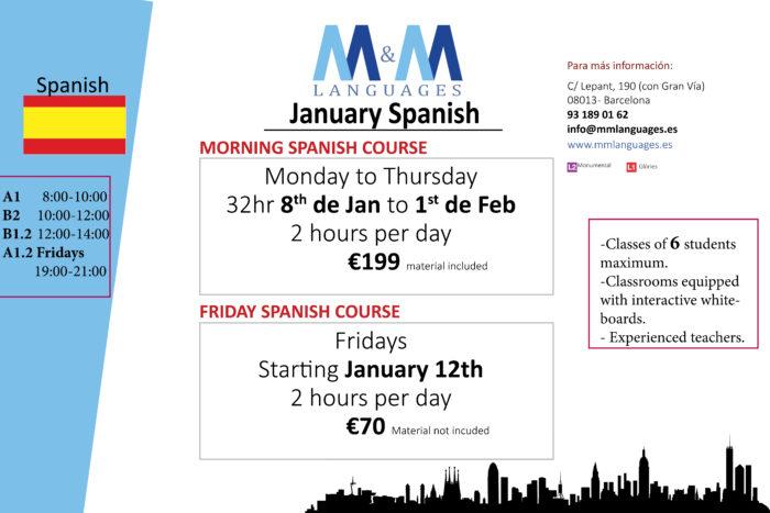 Spanish January intensive-fridays