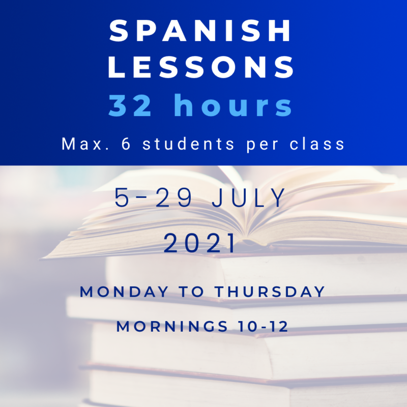 intensive summer Spanish courses 2021